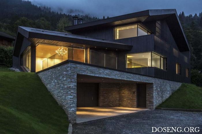 Дом на живописном горном участке во Франции
