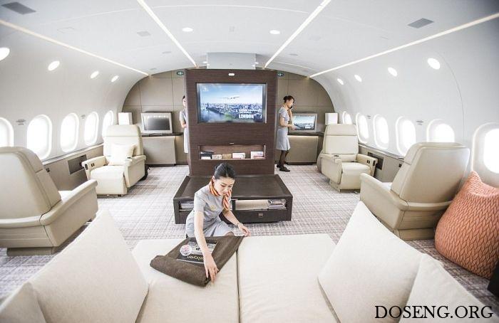 Dreamliner B787 Dreamjet - самый большой в мире частный самолет