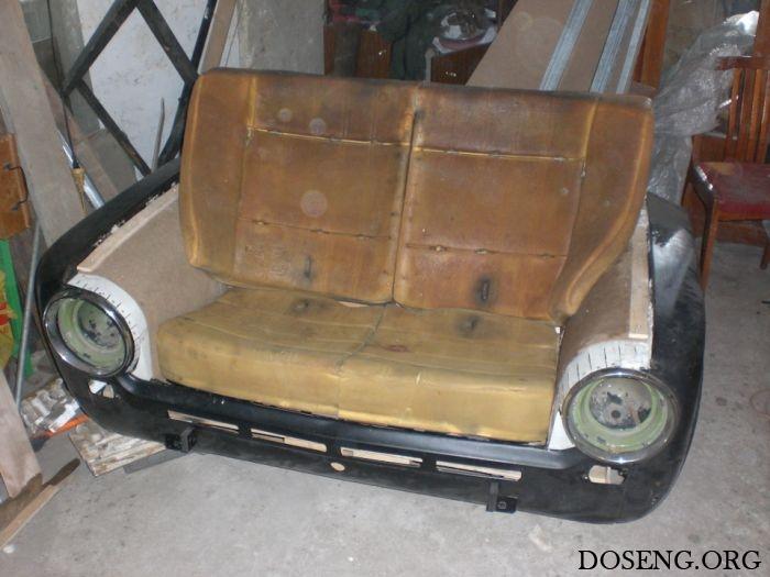 Эксклюзивный диван из ВАЗ-2101