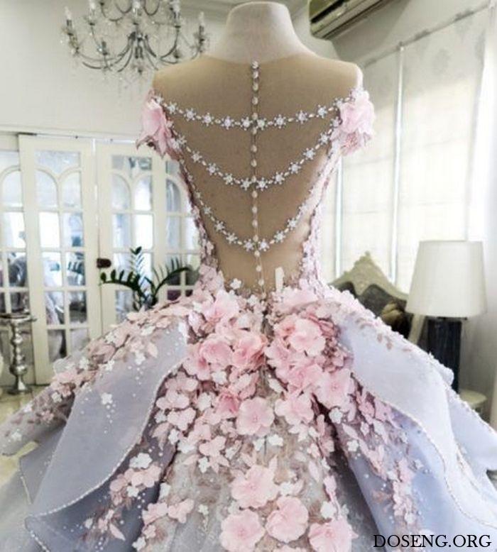 Кондитер испекла съедобное свадебное платье