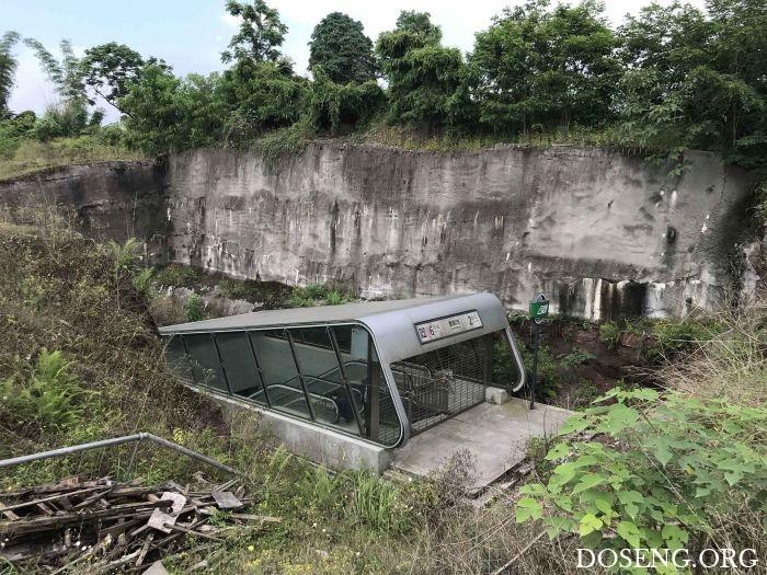 Самая странная станция метро в Китае