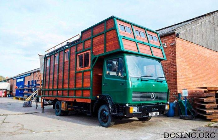 Дома на колесах на базе списанных фургонов