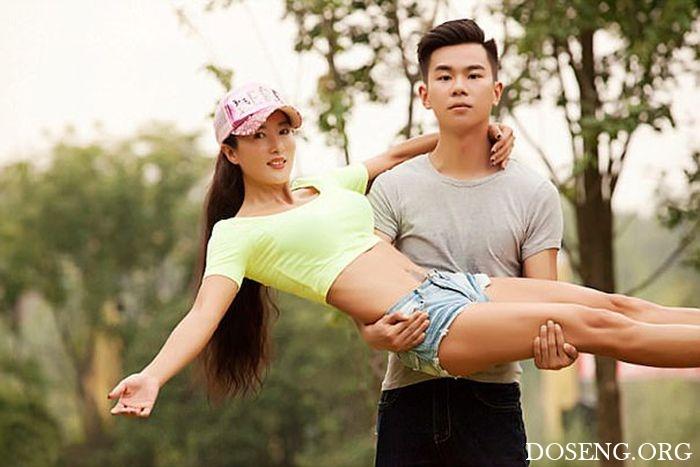 49-летняя китаянка Лю Елин поразила всех своей молодостью и красотой