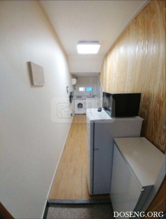 «Апартаменты» в Сеуле за 200 долларов в месяц