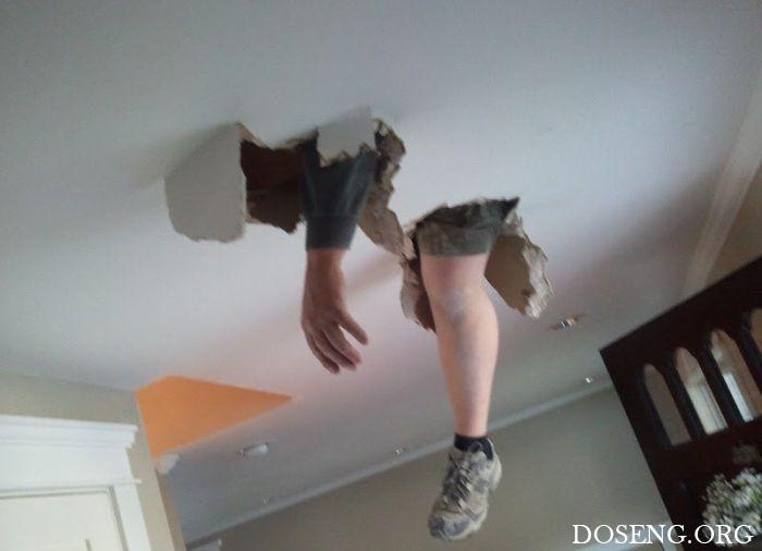 Когда соседи делают ремонт