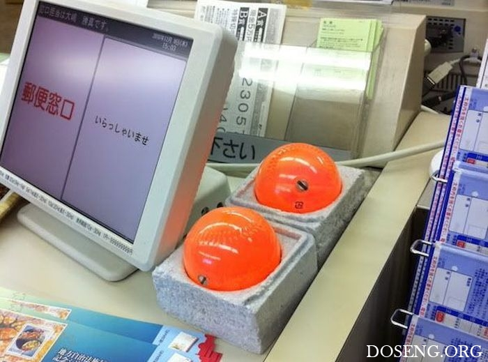 Для чего нужны японским кассирам эти шары