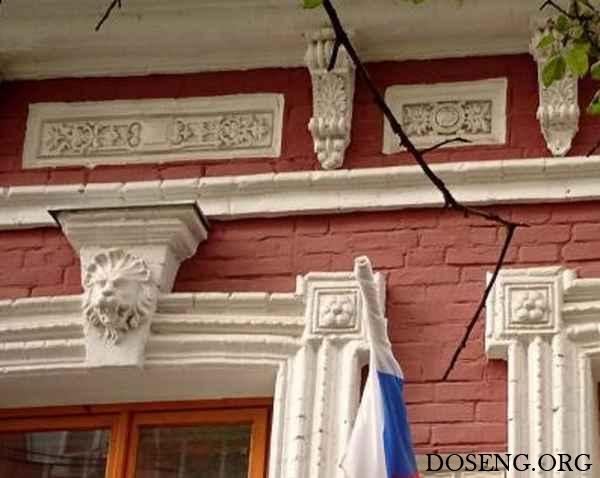Результат реставрации фасада старого здания в Курске