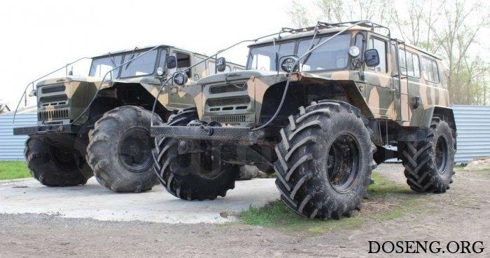 Кастомный вездеход на базе ГАЗ-66