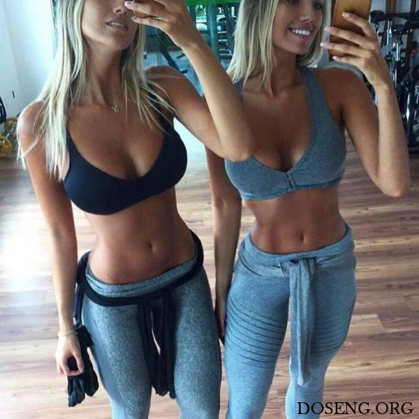 Очаровательные сестры-близняшки Араужо из Бразилии