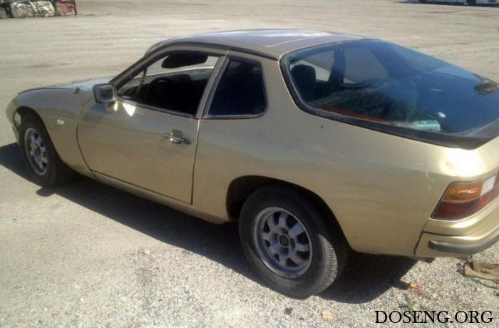 В Казахстане на утилизацию сдали Porsche 924 1985 года выпуска