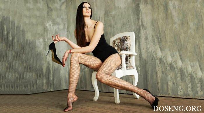 Россиянка Екатерина Лисина подала заявку на титул женщины с самыми длинными ...
