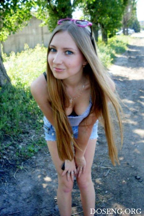 Подборка красивых девушек из социальных сетей
