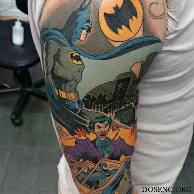 Татуировки, похожие на произведения искусства
