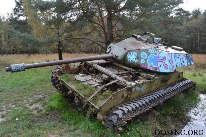 Брошенные танки в Германии