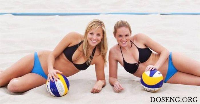 Пляжный женский волейбол