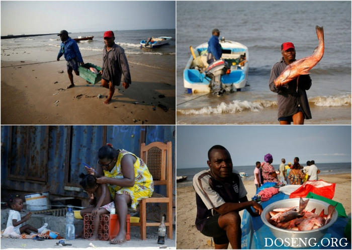 Интересные кадры из Габона