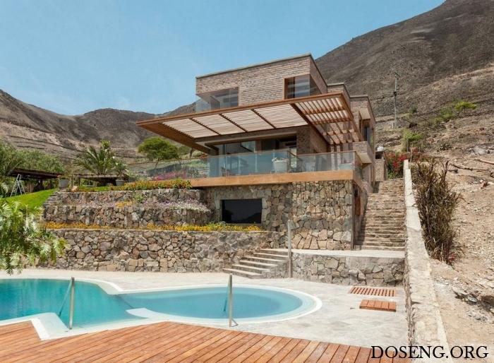 Частная резиденция с видом на долину в Перу
