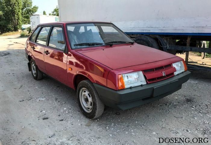 ВАЗ-21093 1990 года выпуска в пробегом 49 км