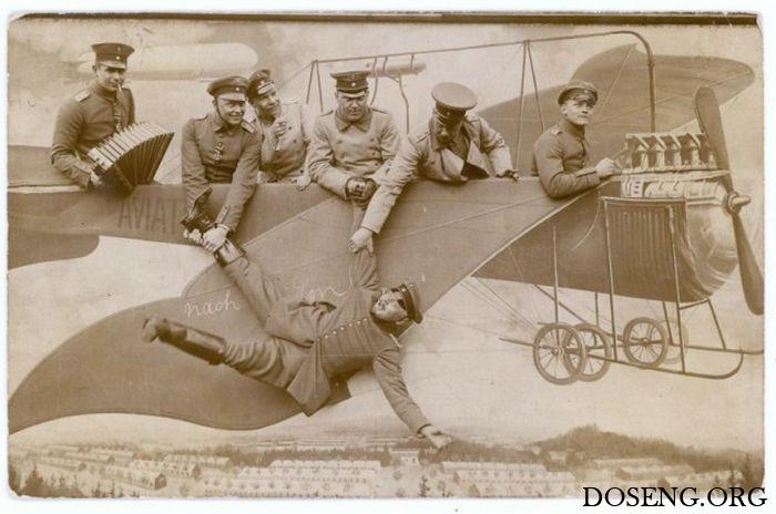 Забавные армейские фото, 1912 - 1945