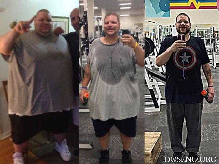 Люди делятся своими успехами в борьбе с лишним весом