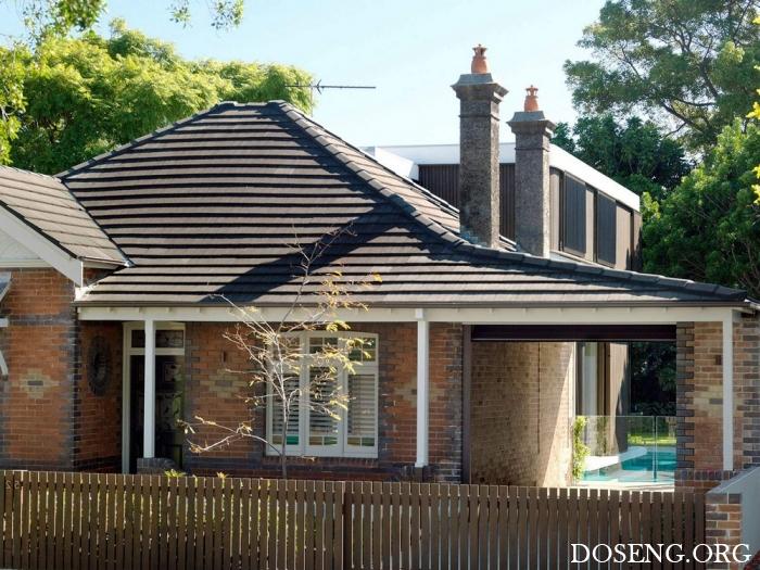 Реконструкция старого дома в Австралии