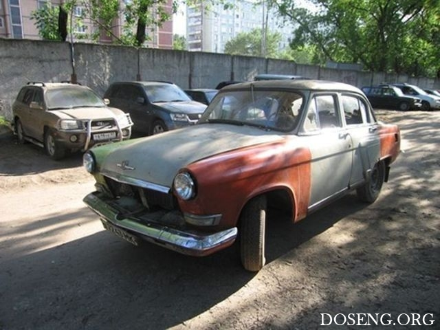 Восстановление легендарной «Волги» ГАЗ-21