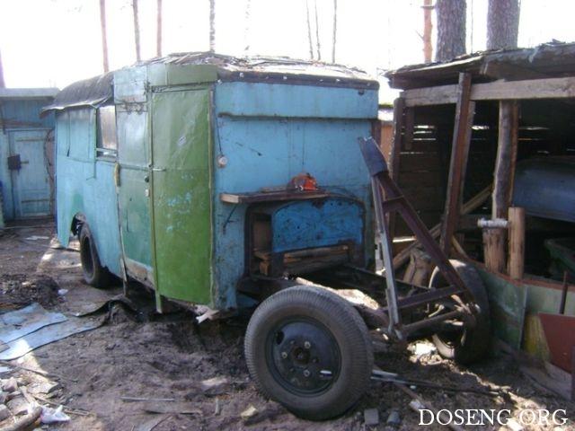 Восстановление автобуса ЗИС-8 1935 года выпуска