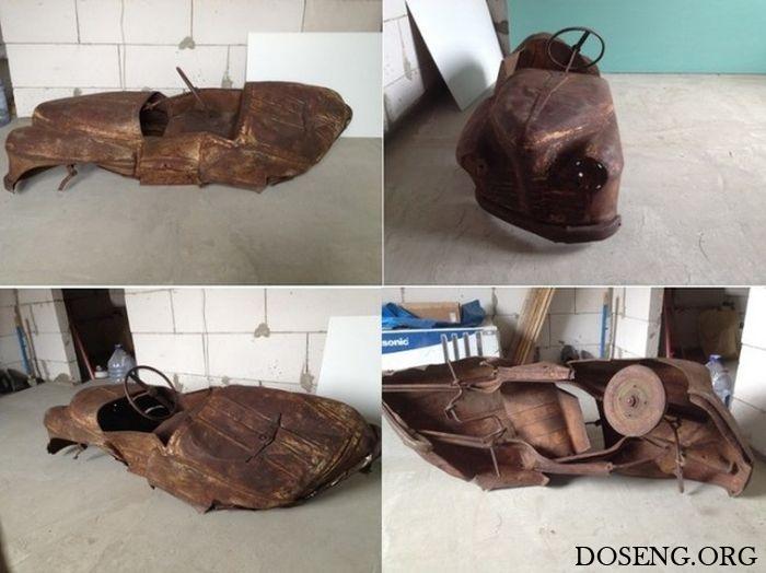 Реставрация педального детского автомобиля «Урал»