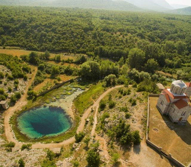 Исток реки Цетины в Хорватии