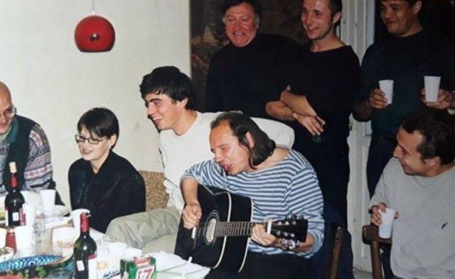 Редкие застольные фото советских знаменитостей