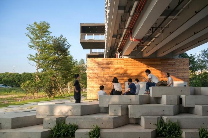 Современное общежитие в китайской провинции Гуандун
