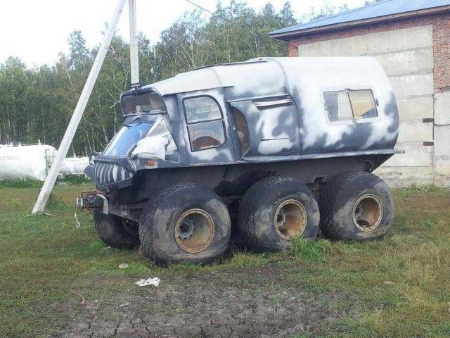 Самодельный вездеход за 600 тысяч рублей