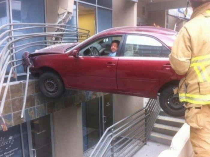 Фото невероятных аварий