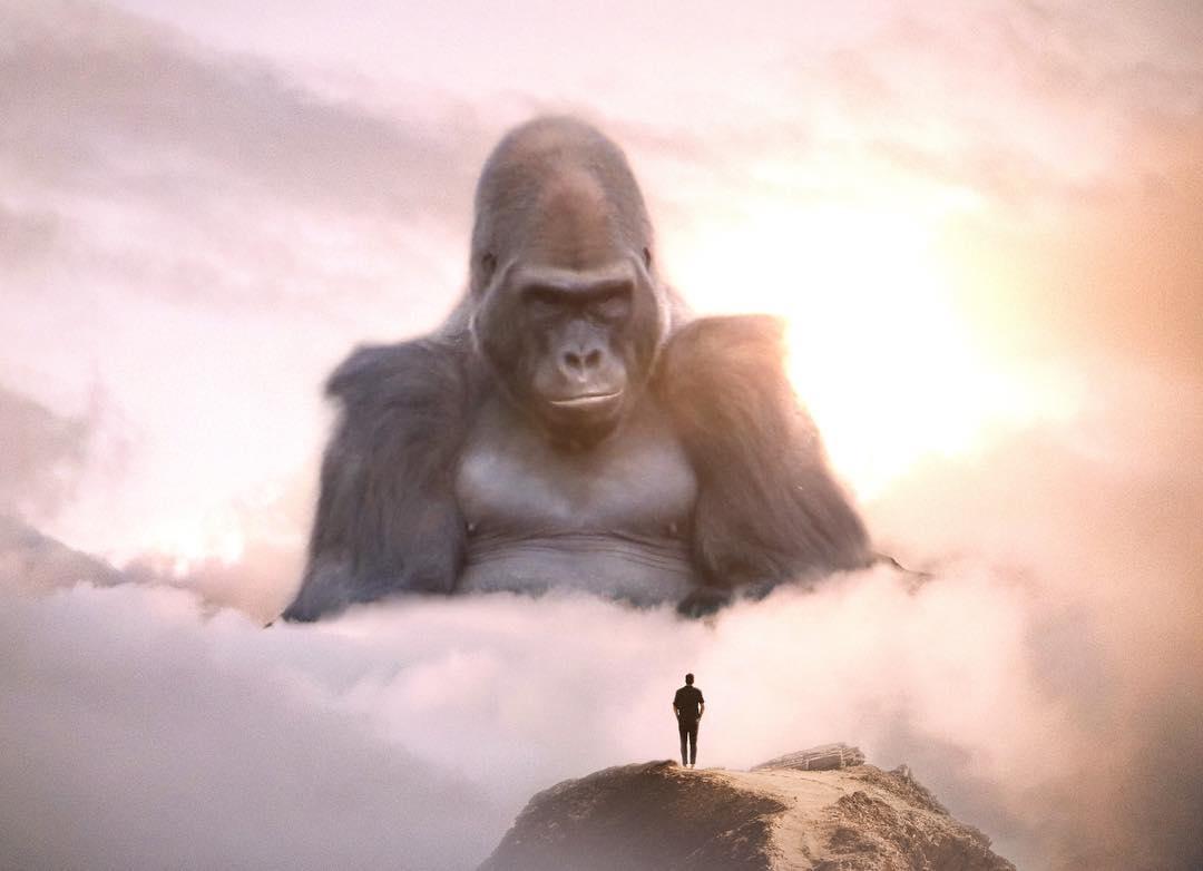 как отдельное картинки большие животные маленькие люди в мире очень универсален