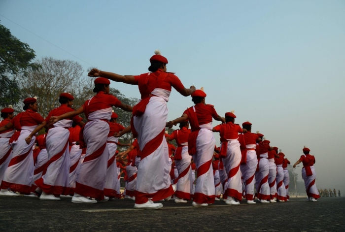 Фотографии, сделанные в Индии на прошлой неделе