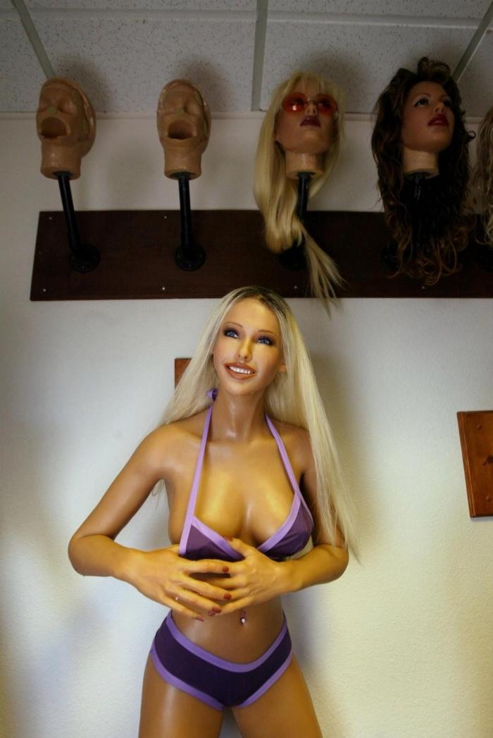 Первый в мире секс робот да