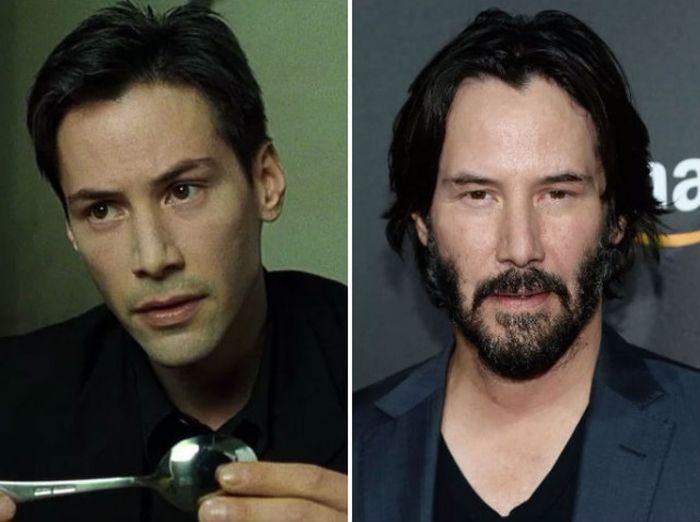 Как изменились актеры фильма «Матрица»