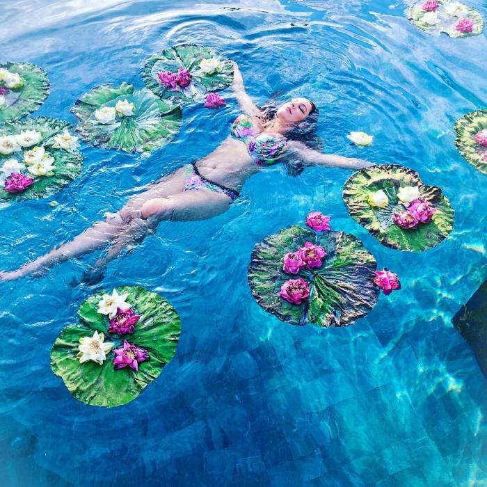 Келли Брук на отдыхе в Таиланде
