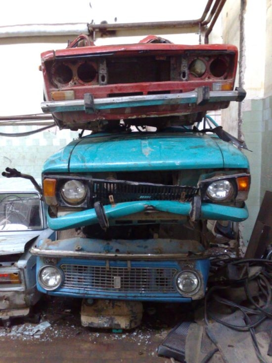 Утилизация старых автомобилей