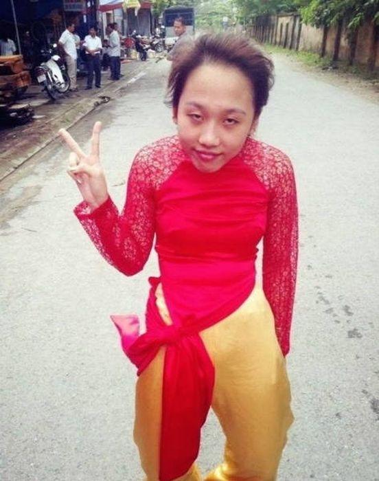 Забавные и странные фото из Азии