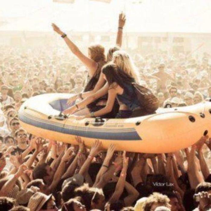 Весёлые фото с музыкальных фестивалей