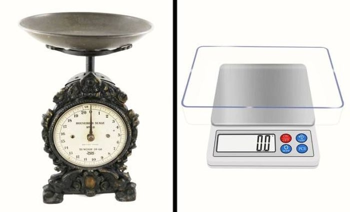 Обычные бытовые предметы тогда и сейчас