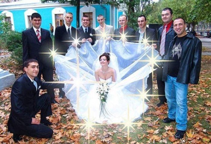 Странные и прикольные фото с наших свадеб