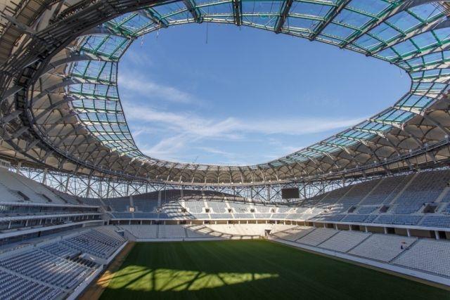 Туалеты на новом стадионе «Волгоград Арена»