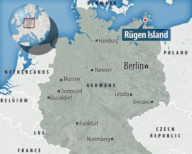 Клад эпохи викингов нашли в Балтийском море на острове Рюген