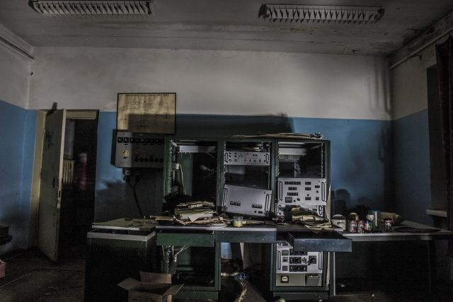 Заброшенная станция оптического наблюдения в Подмосковье
