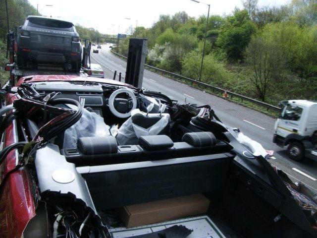 В Великобритании новый Range Rover превратился в кабриолет
