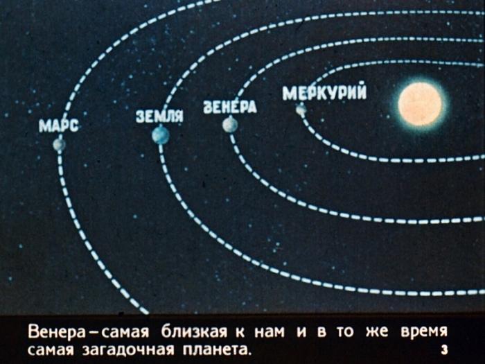 Здравствуй, Венера! Диафильм