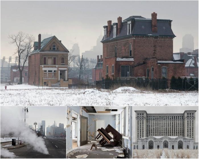 Город-призрак Детройт на снимках Дженнифер Гарза-Куэн