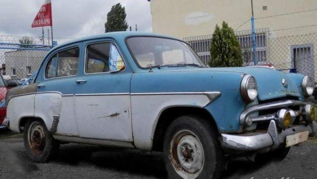 Фотоотчет реставрации Москвича-407
